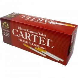 Гильзы для самокруток с фильтром Cartel Plus 20 мм (200 шт)