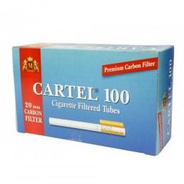 Гильзы для самокруток с фильтром Cartel Carbon 20 мм (100 шт)
