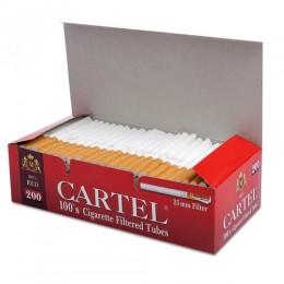 Гильзы для сигарет Cartel - 100s (25мм) - RED - 200 шт