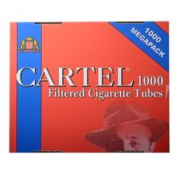 Гильзы для сигарет Cartel - Megapack - 1000 шт