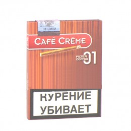 Сигариллы Cafe Creme Filter Coffee № 01