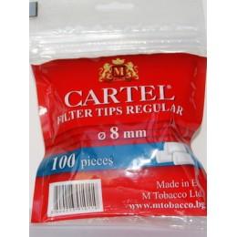 Фильтры для самокруток Tips CARTEL King Size 100