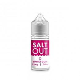 Salt Out Bubble Gum 25mg 30ml