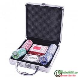 Покерный набор AKN  №4 фишек 100