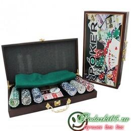 Покерный набор DKN  №2 фишек 300