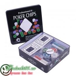 Покерный набор  JBN  №10 фишек 100
