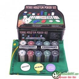 Покерный набор  JBN  №8 фишек 200
