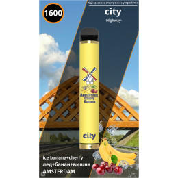 City Амстердам - Банан-Вишня 2%
